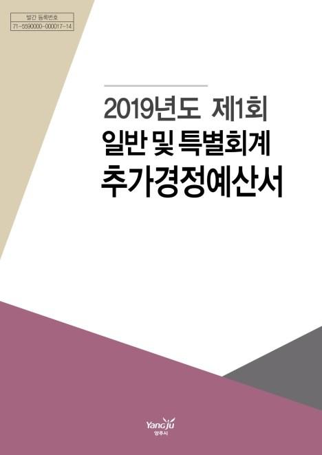 2019 양주시 세입세출 예산서