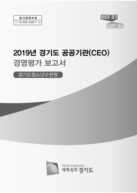 2019년 경기도 공공기관 경영평가 보고서(경기도청소&